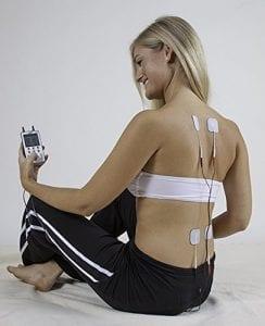 Extra lange Elektroden für den Rücken